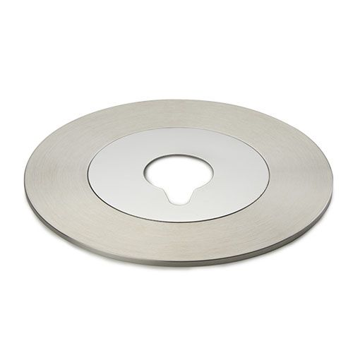 Euromex Metal insert with hole for Oxion Inverso inverted micrososcopes