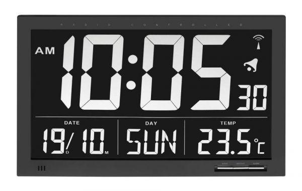 TFA Digitale XL-Funkuhr mit Temperatur 60.4505