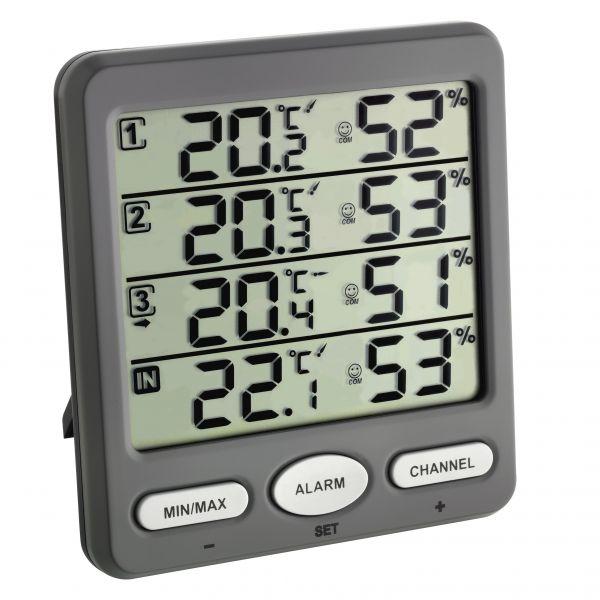 TFA Funk-Thermo-Hygrometer KLIMA-MONITOR 30.3054.10