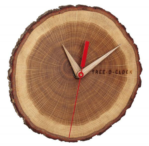 Tree-o-clock Wanduhr