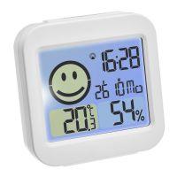 TFA Digitaler Funk-Wecker mit Thermo-Hygrometer 30.5049 30.5049.02