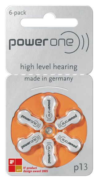 Power One Hörgerätebatterien #13
