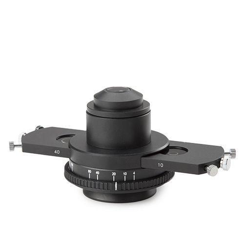 Euromex Slider with phase contrast annuli for S40 phase contast objective for iScope