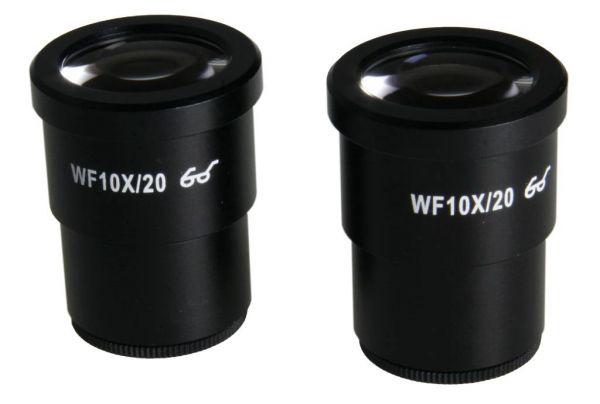 Euromex HWF 10x/20 mm eyepiece with micrometer