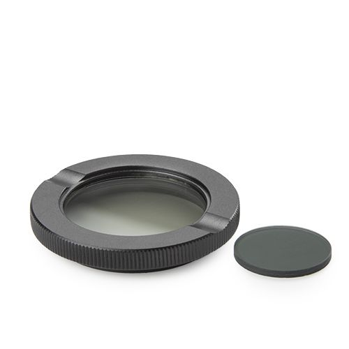 Euromex Polarization set for iScope: simple rotating polarizer for lamp house and fix olarizer mount