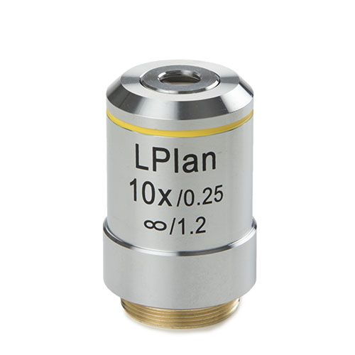 Euromex Plan LWD 10x/0,30 IOS objective, corrected for 1,2 mm