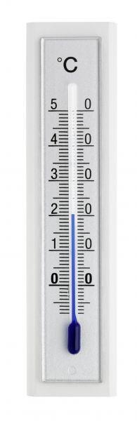 TFA Innenthermometer weiß/silber, FS-TFA / 12.1043.09