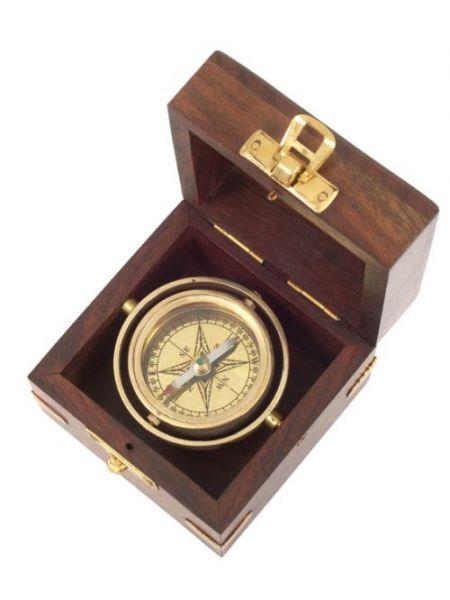 Kasper & Richter SAN JUAN - Kardan Kompass - in Holzkiste 380451