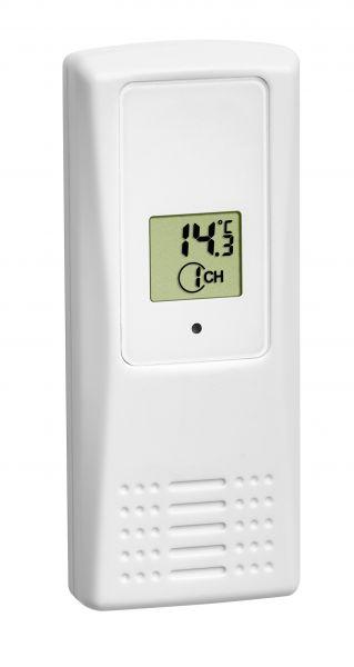 Temperatursender mit Display