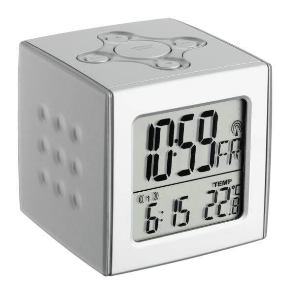 "TFA Funk-wecker mit Temperatur ""Cubo"" 60.2517"