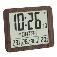 TFA Digitale Funkuhr mit Außen- und Innentemperatur 60.4518 60.4518.08