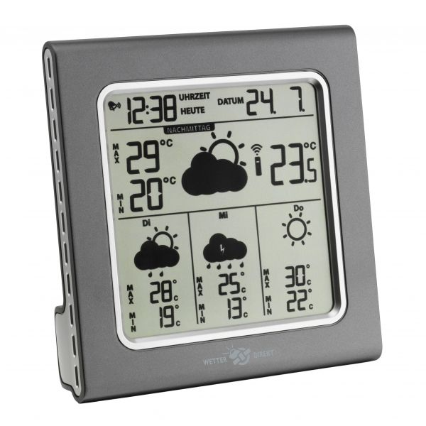 TFA Funk-Wetterstation GALILEO WETTERdirekt satellitengestützt 35.5003.10.IT