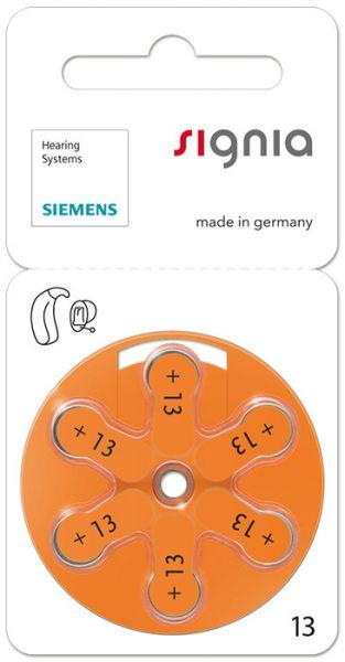 Signia (Siemens) Zink-Luft-Hörgeräte-Batterien #13 / 60 Stück