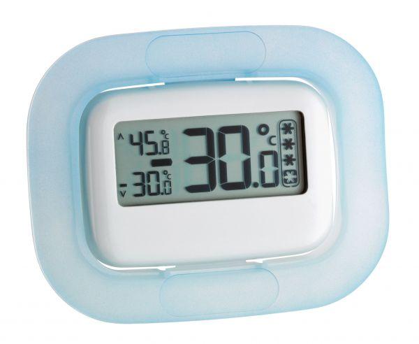 TFA Digitales Kühl-Gefrierschrank-Thermometer 30.1042