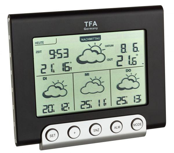 TFA Satellitengestützte Funk-Wetterstation CIELO 35.5056.01.IT