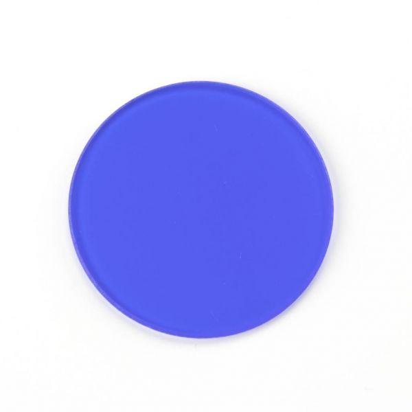 Euromex Blaufilter - Tageslichtfilter, mattiert, 32 mm Ø. - AE.5202