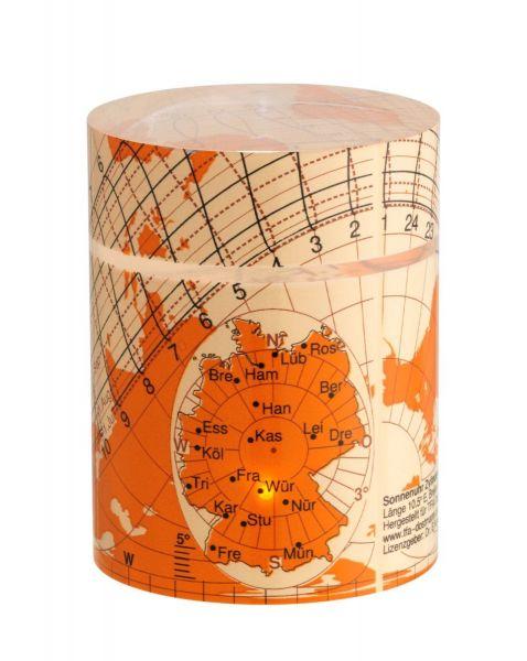 TFA Solemio Zylinder-Sonnenuhr 43.4000.13