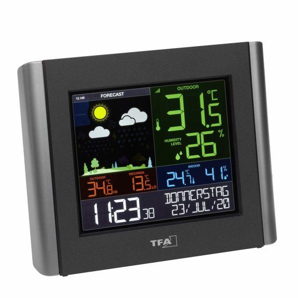 TFA Funk-Wetterstation mit WLAN VIEW METEO 35.8000