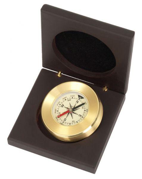 Kasper & Richter Kompass in edler Holzbox MALFI - 387951