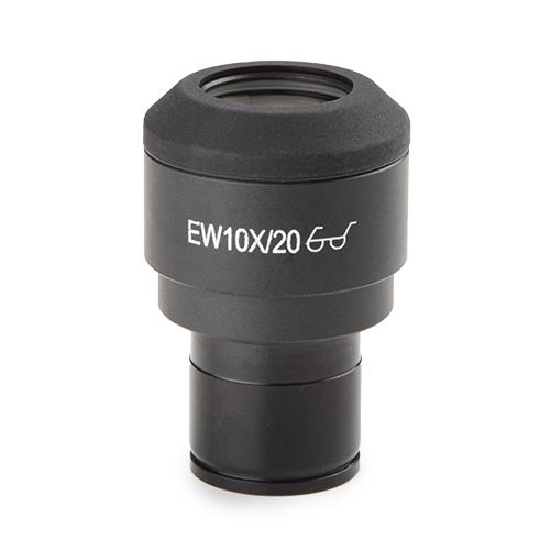 Euromex EWF 10x/20 mm eyepiece (Ø23.2mm) for iScope with 10/100 micrometer and cross hair