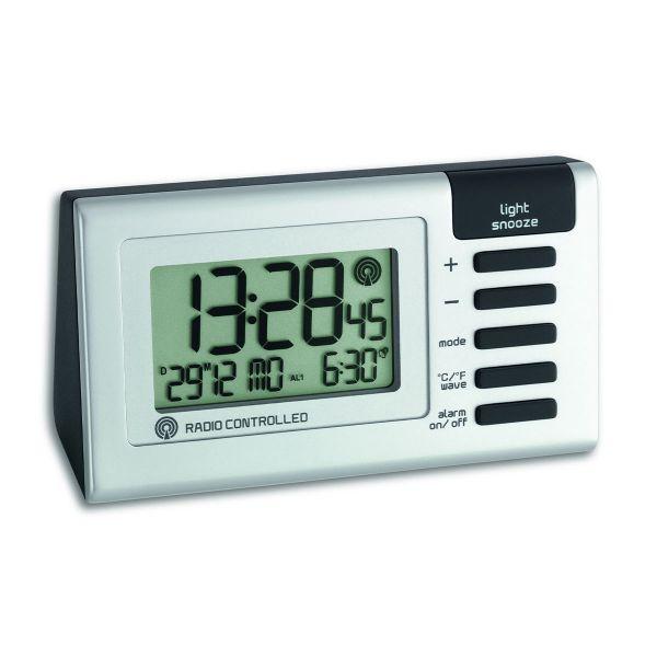 TFA Digitaler Funk-Wecker mit Temperatur 60.2509