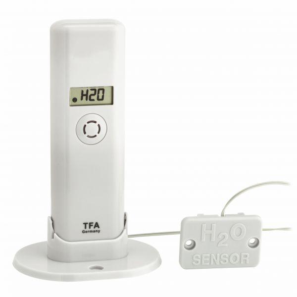 TFA WeatherHub T/F Sender mit Wassermelder passend für 'WEATHERHUB'-Gateway 30.3305.02