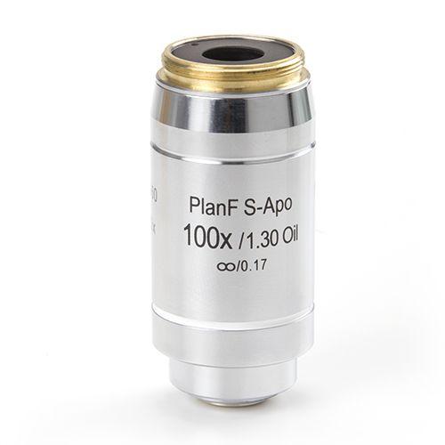 Euromex Infinity EIS 60 mm Plan Semi-Apochromatic PLi-Apo Fluarex S100x/1,30 oil immersion objecti