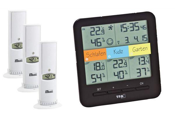 TFA Funk-Thermo-Hygrometer KLIMA@HOME 30.3060.01.IT